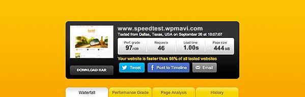 Wordpress Site Hızı Performansı Ölçme
