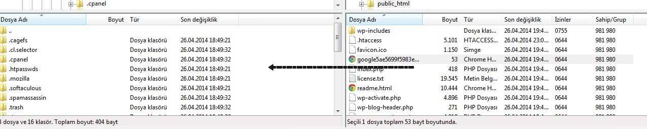 host-degistirme-ftp-kullanımı