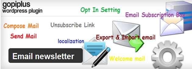 Email Newsletter otomatik mail gönderme eklentisi