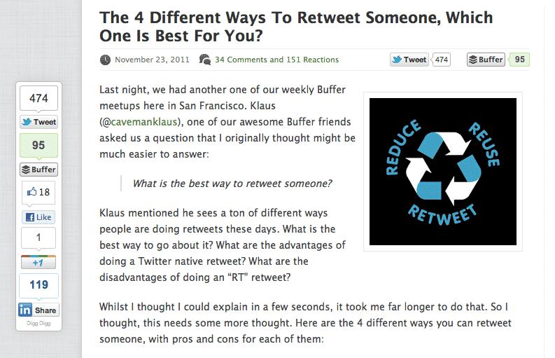 Digg Digg Sosyal Paylaşım Eklentisi