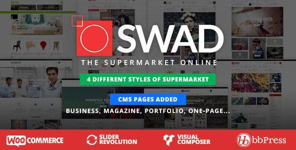 Wordpress e-ticaret teması oswad - en iyi wordpress temaları