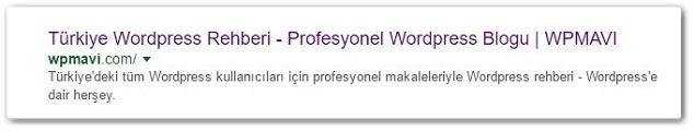 Wordpress Yoast SEO - Ana Sayfa SEO Başlığı