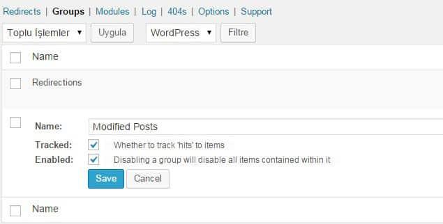 Wordpress Yönlendirme Eklentisi - Detaylı Yönlendirme Anlatımı