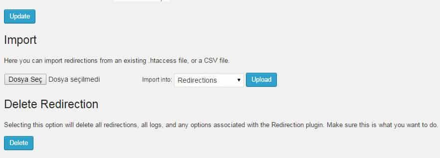 Wordpress 301 Yönlendirme Eklentisi Kullanımı