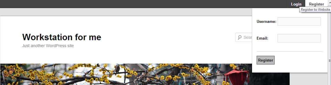 Wordpress Üyelik Ekleniti - Ajax Register Eklentisi üye olma paneli