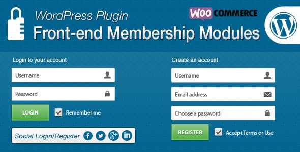 Wordpress Üyelik Eklentisi - Front-end üyelik eklentisi