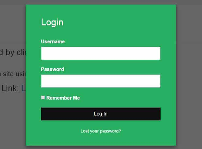 Wordpress Üyelik Eklentisi - Modal Login Register Eklentisi