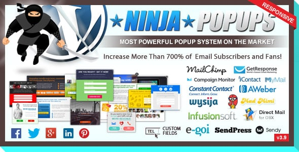 En İyi WordPress Eklentileri - Ninja Popups