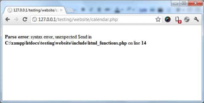 Syntax error - Syntax Hatası - Wp-admin Beyaz Sayfa