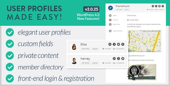 Wordpress Üyelik Eklentisi - User Profiles