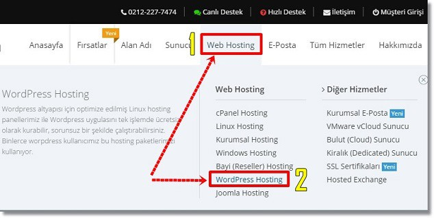 Blog Nasıl Kurulur - Turhost WordPress Hosting