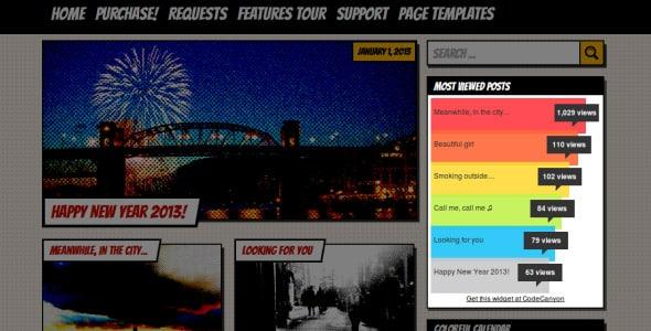 Wordpress Sidebar Popüler Yazılar Bileşeni