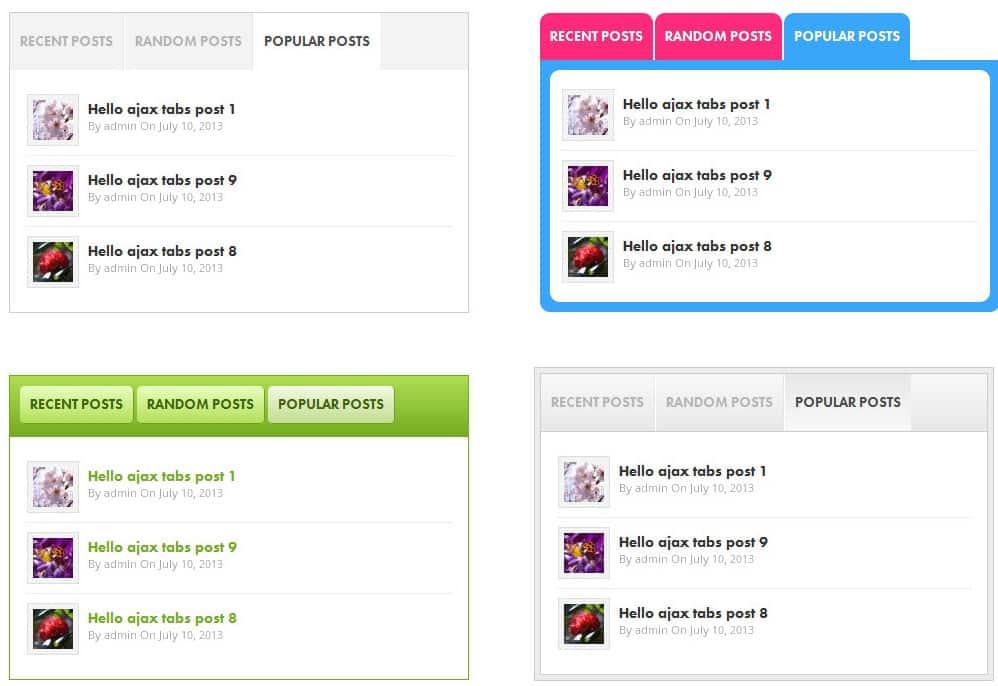 Wordpress Popüler yazılar bileşeni - WordPress en son yazılar bileşeni