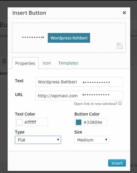 Wordpress buton ekleme - forget abouut shortcode buttons eklentisi