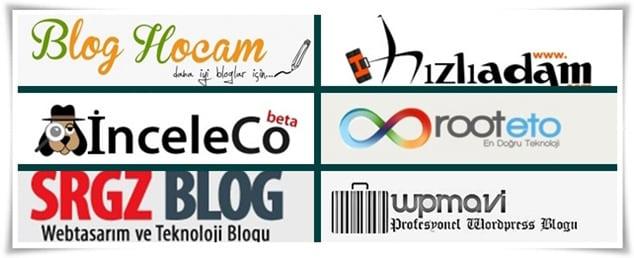 Türkiye'nin En basarılı blogları - en başarılı blogçulardan başarı sırları