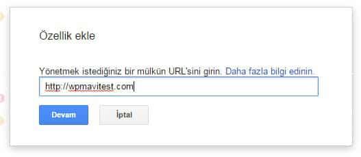 Wordpress SEO için Sİteyi Google'a Kaydetmek -2