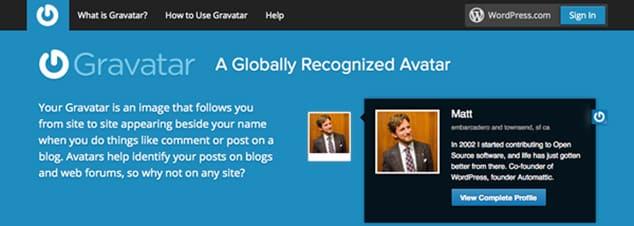 blog açtıktan sonra ilk yapılması gerekenler gravatar