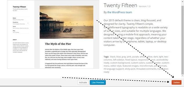 tema nasıl silinir blog açtıktan sonra ilk yapılması gerekenler kullanılmayan temaları silmek