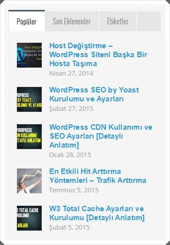 Popüler yazılar - Hangi konu üzerine blog yazmak gerekli ?