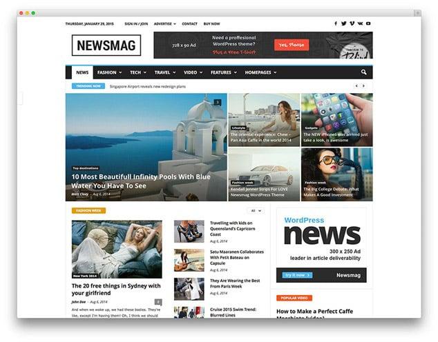 en hızlı wordpress teması - en hızlı wordpress teamaları - newsmag