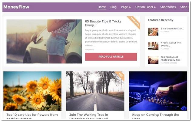 Wordpress Haber Teması - WordPress Haber Temaları - MoneyFlow WP Haber Teması