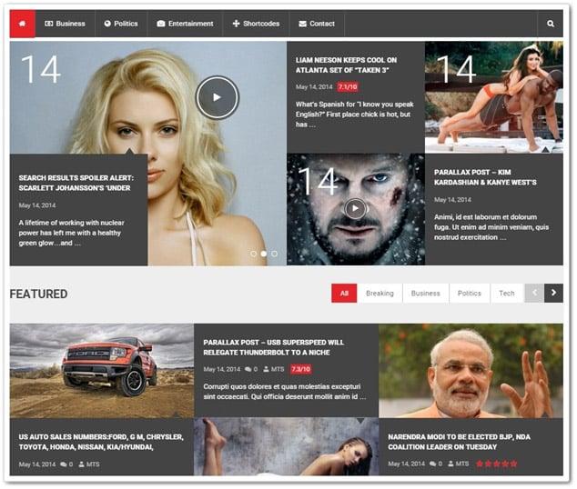 Wordpress Haber Teması - WordPress Haber Temaları - WP Haber Teması