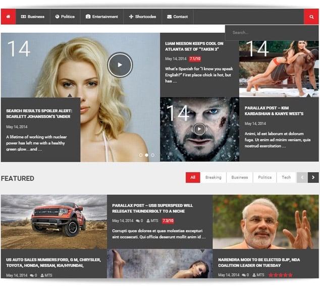 En iyi wordpress temaları - en iyi wordpress teması - wordpress haber teması newstimes