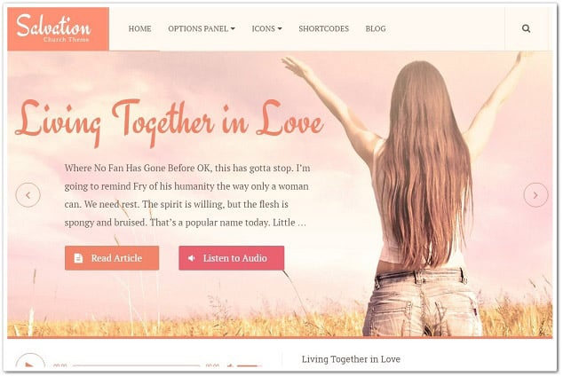 Wordpress kadın teması - kadın blog teması