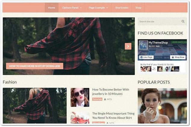 Wordpress kadın teması - kadın moda teması