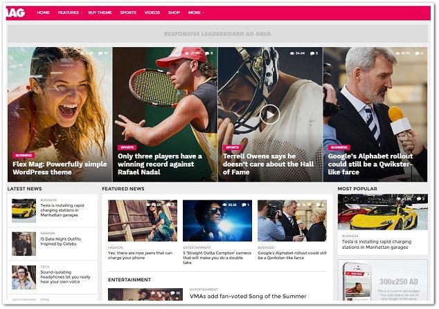 Wordpress kadın teması - kadın portal teması