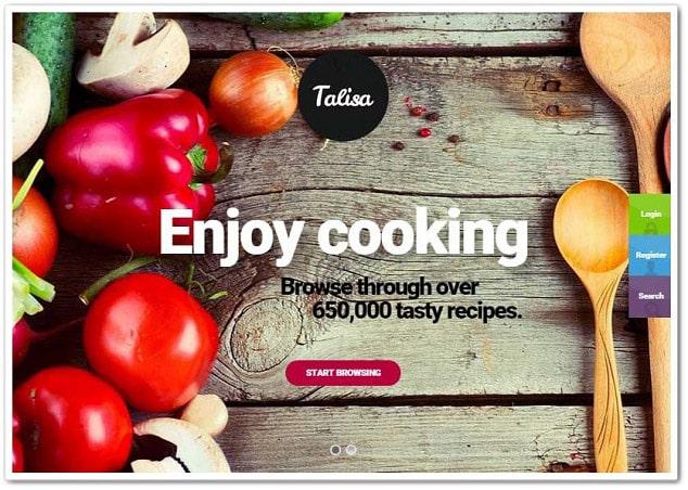 Wordpress Kadın Teması - Yemek Tarifi Teması