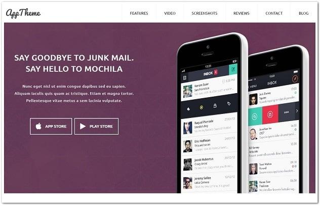 Wordpress kurumsal tema - wordpress şirket teması app theme