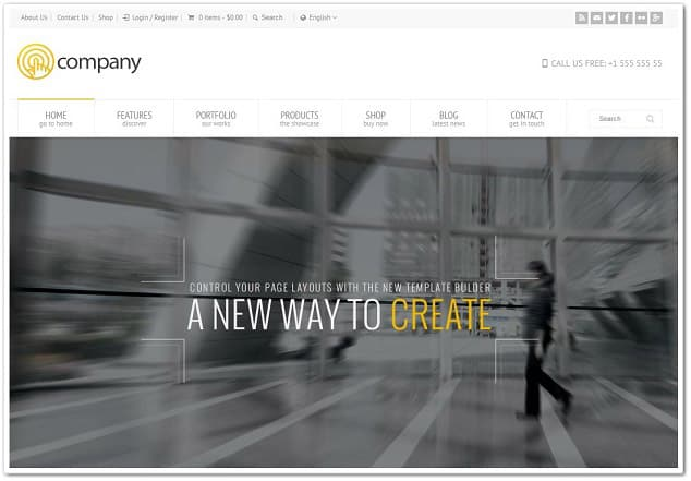 Wordpress kurumsal tema - rt theme18 şirket teması