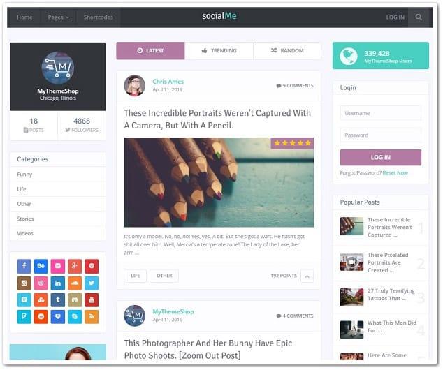 Wordpress paylaşım teması - paylaşım sitesi teması