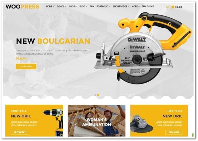 Wordpress Ürün Satış Teması WooPress