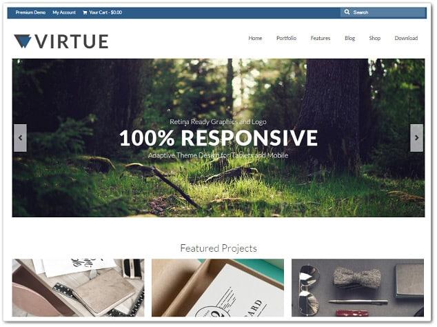 Ücretsiz WordPress Teması - Virtue
