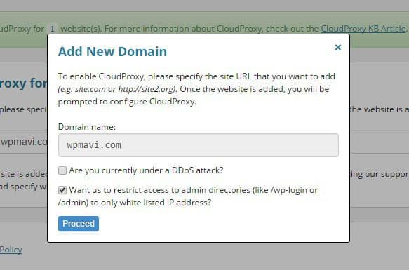 Wordpress Güvenlik Duvarı Ekleme