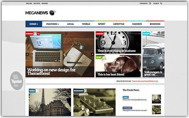 MegaNews - Seo Uyumlu Haber Teması