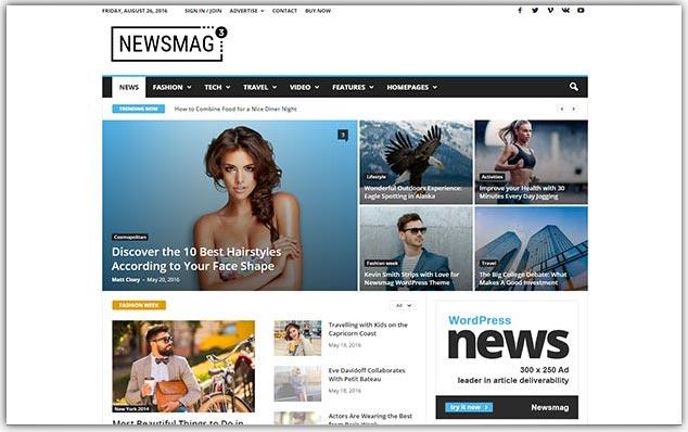 NewsMag - Seo Uyumlu Magazin Teması