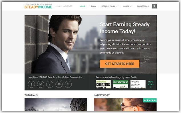 Steadyincome - Seo Uyumlu Dijital Pazarlama Teması
