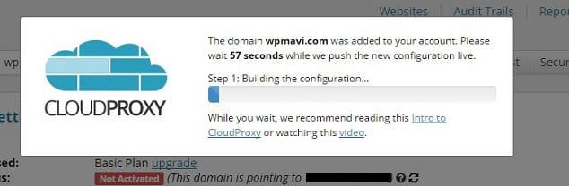 Wordpress Güvenlik Duvarı Aktifleştirme Ekranı