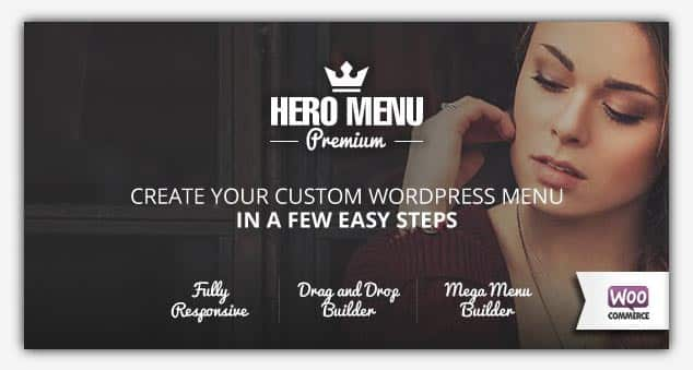 Hero Menu - WordPress Menü Eklentisi