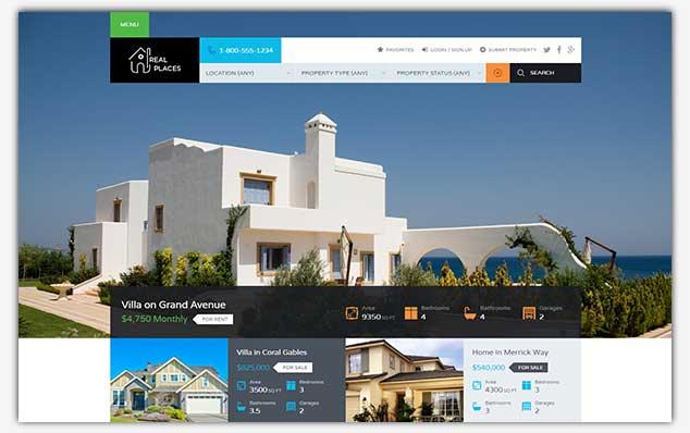RealPlaces - WordPress Emlak Teması