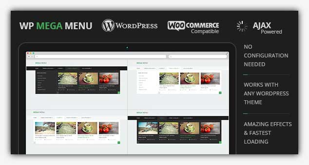 WP Mega Menu - WordPress Menü Eklentisi