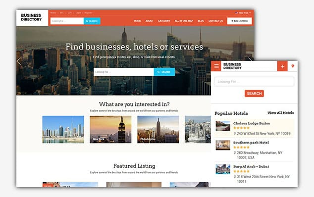 Business Directory - (WordPress İlan Teması)