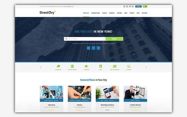Directory Portal - (WordPress İlan Teması)