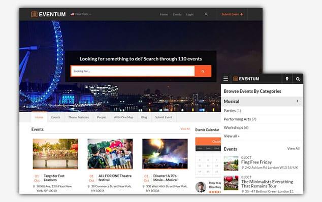 Eventum - (WordPress İlan Teması)