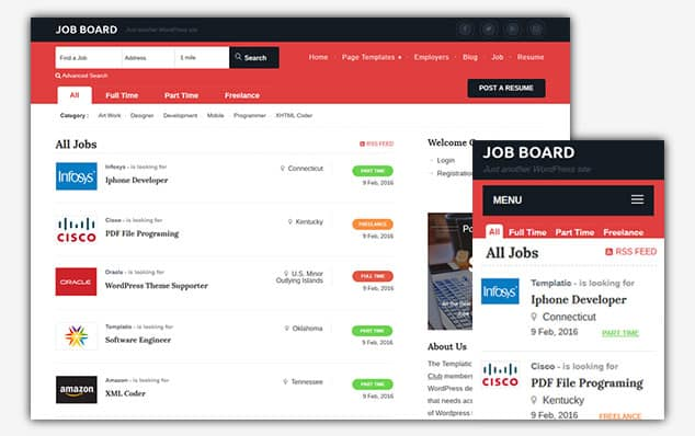 Job Board - (WordPress İlan Teması)