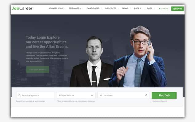 JobCareer - (WordPress İlan Teması)