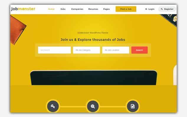Jobmonster - (WordPress İlan Teması)